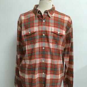 NWT PATAGONIA cotton Steersman PLAID Shirt xl